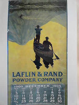 1905 Laflin & Rand Powder Company  Calendar Poster,No pad  Philip R Goodwin?