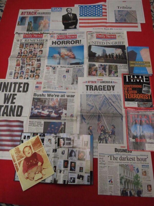 SEPTEMBER 11/12, 2001 ~ WE REMEMBER ~ SEPT. 12, 16, / AN ORAL HISTORY 1ST / TIME