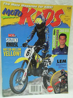 Moto Kids Magazine May June 2003 Dirt Bike Motocross Chad Reed Suzuki RM85L