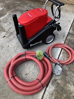 Rotobrush Air Air Duct Cleaning Machine Works Great Roto Brush Hvac Clean Hepa