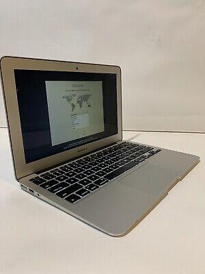 Apple Macbook Air 11-inch Early 2015 1.6GHz Core i5 4GB RAM 128GB SSD