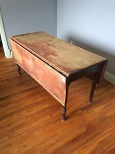 Table antique.  Antique table very old