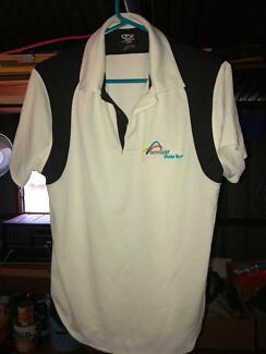 Boy's Size 14 Black and White Tennis Shirt