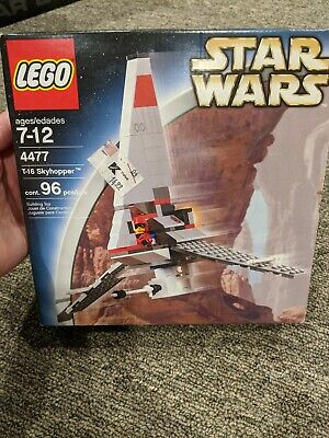 Vintage LEGO 4477 Star Wars T-16 SKYHOPPER Complete + Unopened + Sealed !!
