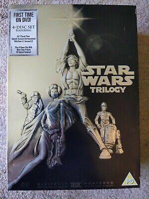 Star Wars Original Trilogy Boxset DVD - Remastered - Preowned