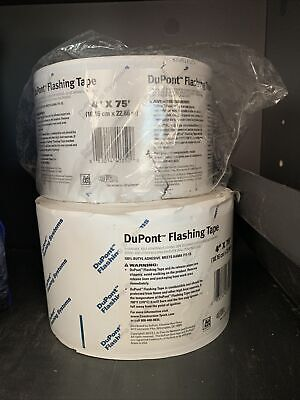 2 Rolls 4 -75 Dupont Flashing Tape Doors Windows And Other Penetrations