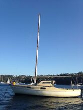 HOOD 23 FIBREGLASS SAILING YACHT CRUISER WEEKENDER LIVEABOARD Seaforth Manly Area Preview