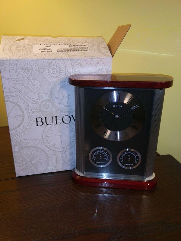 Bulova Belvedere Table Clock Model B7590