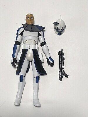Star Wars CAPTAIN REX The Clone Wars Arc Trooper TCW Figure Clean Armor 501st
