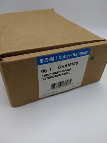 CHAN100 - EATON STRUCTURED WIRING NETWORK DISTRIBUTION PANEL - NIB