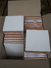 Box of 60 new, white ceramic wall tiles 13x13cm Made in Spain. West Hobart Hobart City Preview