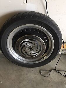 2011 fat boy low rims and tires