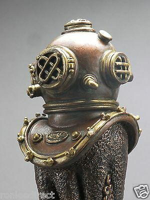 """""""THE DEEP""""(OCTOPUS WITH DIVERS HELMET) BAR BEER TAP HANDLE DIRECT FROM RON LEE"""