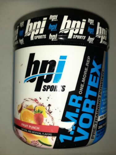 BPI Sports 1.M.R. Vortex Pre-Workout Powder, Fruit Punch, 5.