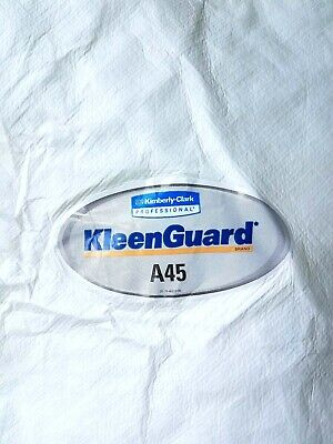 Kleenguard A45 Coveralls Liquid Particle Paint Protection Suits 4xl Lot Of 2