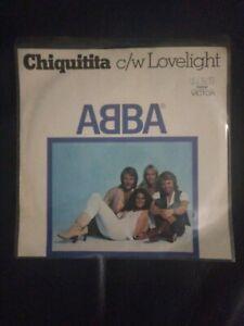 ABBA Chiquitita 45 record