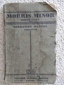 MORRIS MINOR MANUAL Wodonga Wodonga Area Preview
