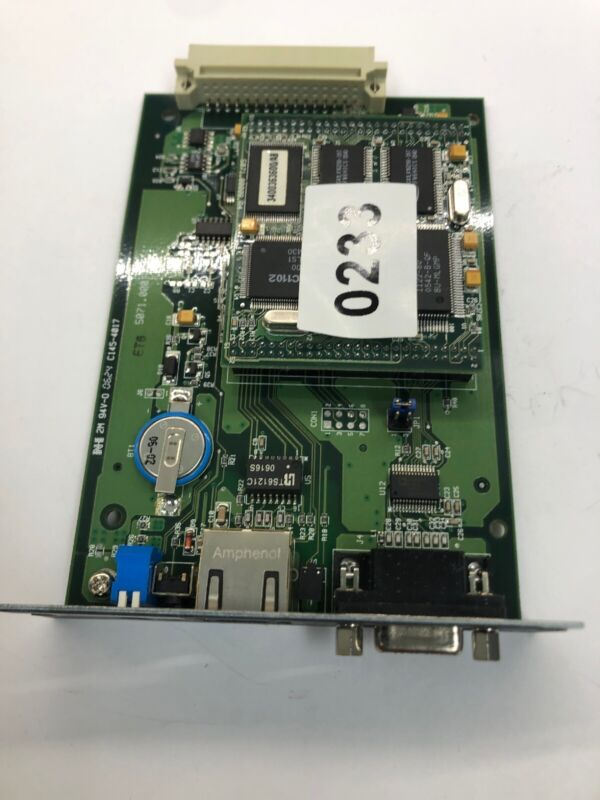 MGE UPS Systems 34003630 ENET/RS232 PCB Card Network Ethernet