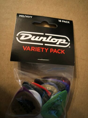 Dunlop Guitar Pick Variety Pack Medium / Heavy 18-Pack PVP105 (2519)
