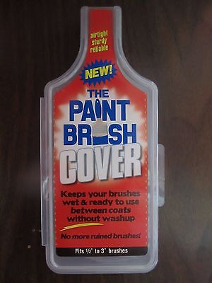 The Paint Brush Cover #PBC001   Keep brushes wet for up to 30 days   - The Paint Brush Cover