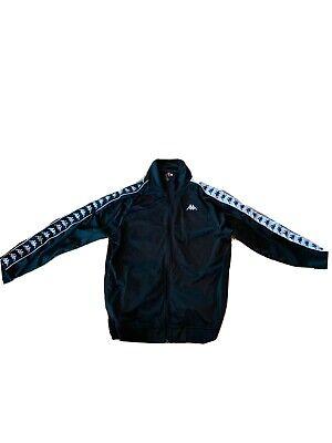 Kappa Track Jacket Black Men's Xtra Large XL