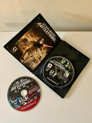 Star Wars: Battlefront and Battlefront II Disc (Sony PlayStation 2, 2004)