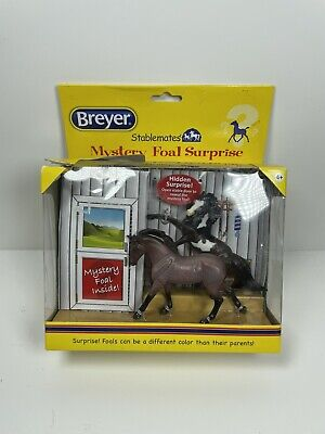 Breyer Stablemate Mystery Foal Surprise Warmblood & Rearing Mustang # 5938