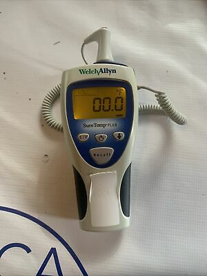 Welch Allyn Suretemp 692 Plus Medical Grade Oral Thermometer W 25 Probe Covers