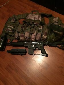 Mint Condition TPN Sierra One Paintball set