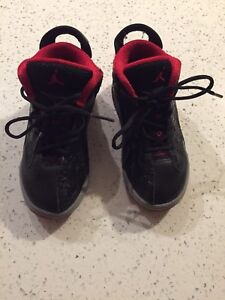 Jordan's toddler boy shoes size 9