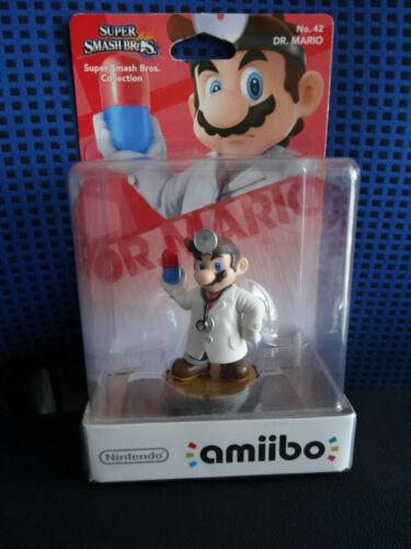 """NEU! amiibo: Super Smash Bros. Collection:  """" Dr. Mario """" .  Nr.:42"""