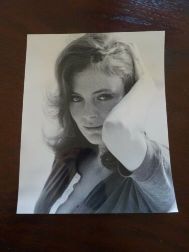 Jacqueline Bisset Sexy Actor 8x10 B&W Promo Photo