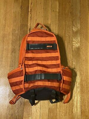 Nike SB RPM Skateboarding Skate Backpack Bag Orange