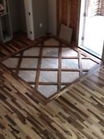 Professional flooring installer