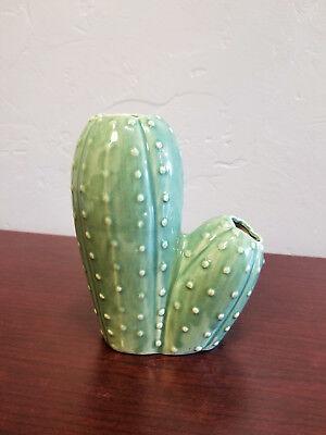 Urban Outfitters Ceramic Decorative Cactus Vase - Ceramic Vases