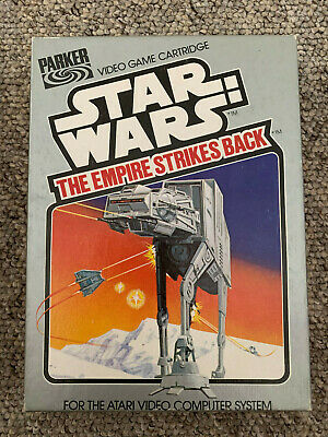 Atari 2600 Game - Star Wars Empire Strikes Back - Boxed - VGC
