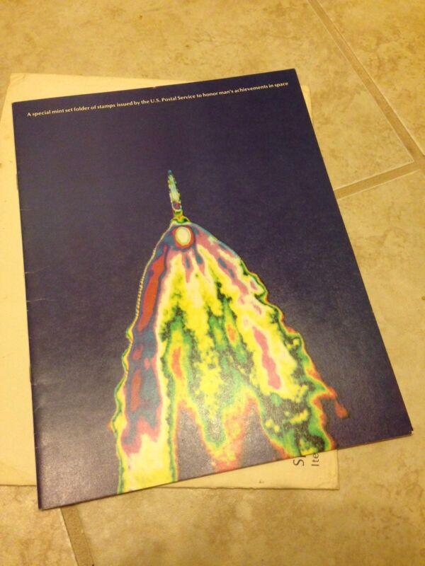 Usps Space Achievement Folder - 1980 Item # 833