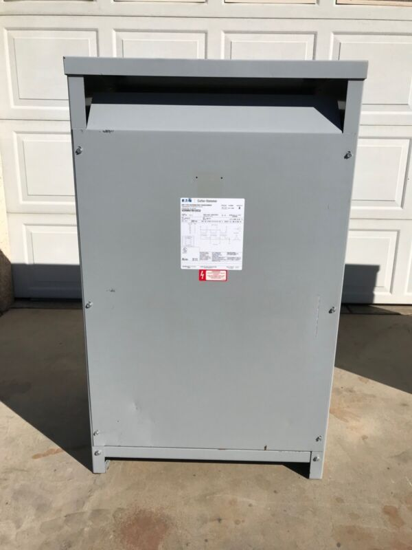 Transformer 112KVA 3/PH 208D Primary to 480Y/277 Secondary (step-up) Copper !!!