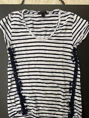 J Crew Striped T Shirt