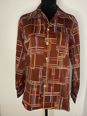 1970s Mens Shirt Styles – Vintage 70s Shirts for Guys 1970s Button Up Shirt $15.00 AT vintagedancer.com