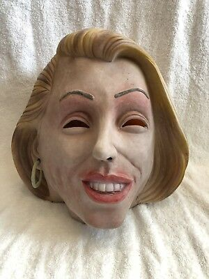 Vintage Duracell Battery Flo Putterman Mask Robot Mom Halloween Costume 1996 - Flo Halloween Costume