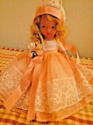 Vintage bisque Nancy Ann Storybook doll: Fairyland #161; frozen legs & head
