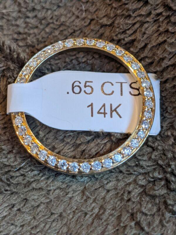 Custom Diamond Bezel For Rolex Ladies No Date Watch