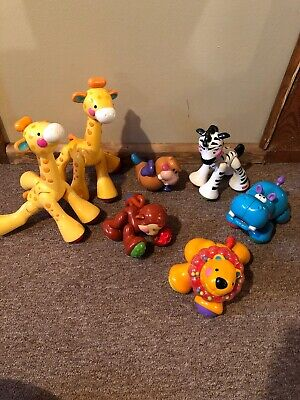 Fisher-Price Amazing Animals lot of animals 9 total