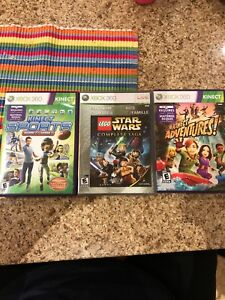 Xbox360 LEGO Star Wars, Kinect adventures & sports