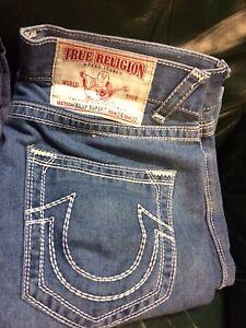 5 pairs designer jeans.  True religion MMA