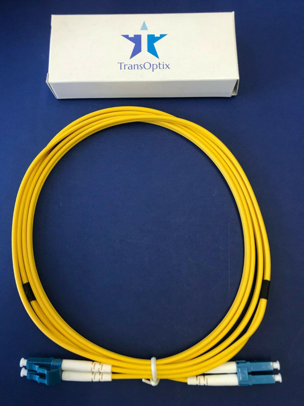 - LC to LC 100 Meter Singlemode Duplex Fiber Optic Cable 9//125 Yellow
