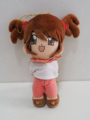 "Sakura Taisen Wars Coquelicot SEGA 2001 Plush 7"" TAG Stuffed Toy Doll Japan"