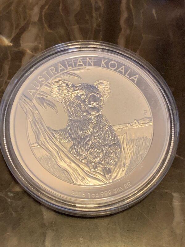 Australian Koala 2015 1oz Silver Coin (Perth Mint)