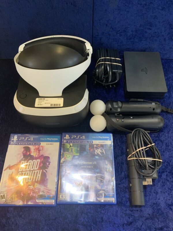 Playstation 4 VR Bundle